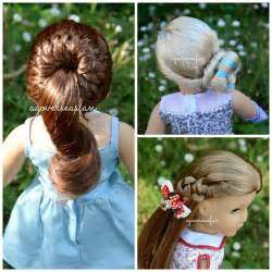 american freeze style hairdo american girl doll disney frozen elsa hairstyle inspired