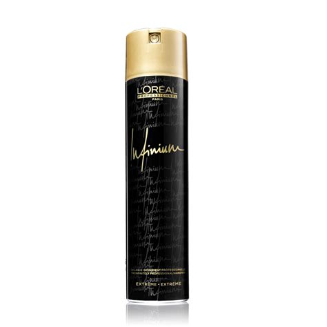 L Oreal l or 233 al infinium hairspray 500ml salon supplies
