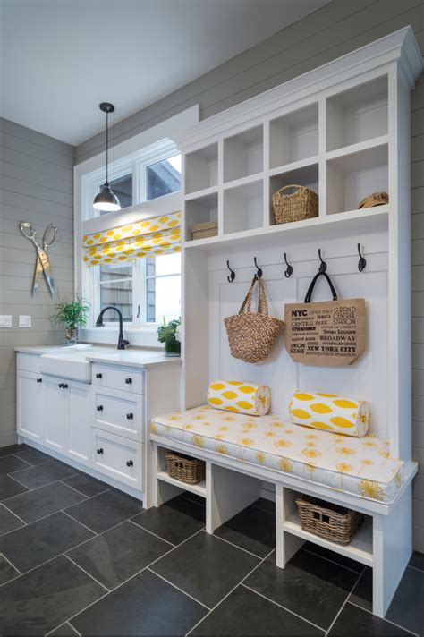 Laundry Mud Room | small laundry and mud room inspiration diy swank