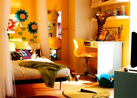Ikea Teenage Bedroom | ikea 2010 teen and kids room design ideas digsdigs