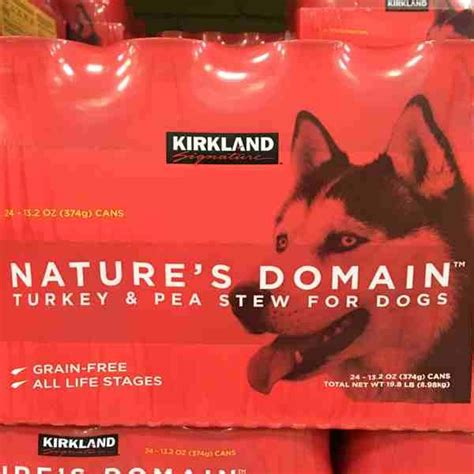 nature s domain food review ks nature s domain canned turkey stew 24 13 2oz 895073 south s market