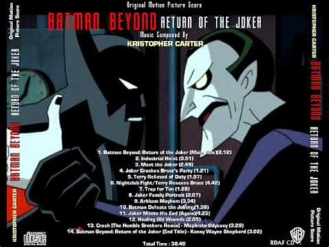 batman beyond return of the joker theme for mobile tune batman beyond return of the joker title soundtrack