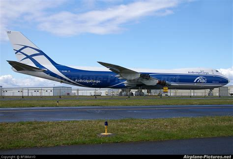 vq bgz air bridge cargo boeing 747 8f at everett snohomish county paine field photo id