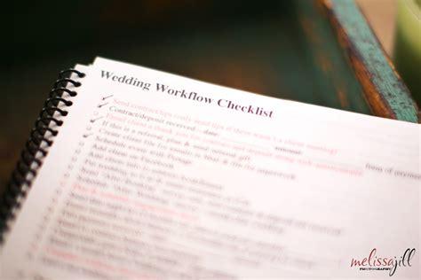 wedding workflow workflow series pt 5 workflow checklist