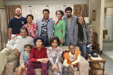 tom jackson tv show black ish abc releases good times tribute finale photos