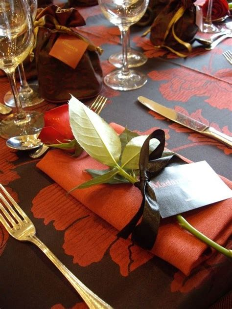 simple elegant table settings 67 best images about la tavola dell autunno on pinterest