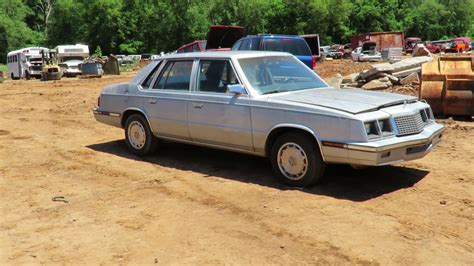 rescue plymouth junkyard rescue 1985 plymouth caravelle