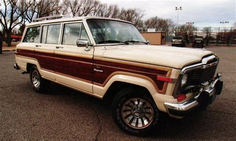 1985 Jeep Wagoneer 1985 Jeep Wagoneer Station Wagon Aucton Results 4 000