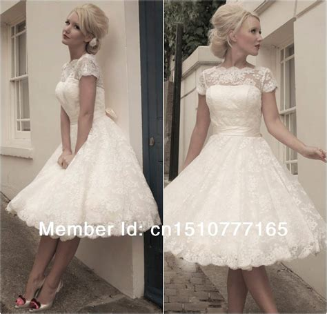 Kurze Hochzeitskleider Mit Spitze by Jacqueline Vintage Lace Wedding Dress