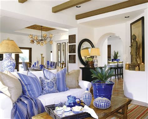 Blue And White Living Room by All About Home Decoration Furniture Color True Blue A Designer Cue On How To
