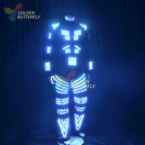 led lights for clothing led clothing fashion sw2812 suits luminous costumes