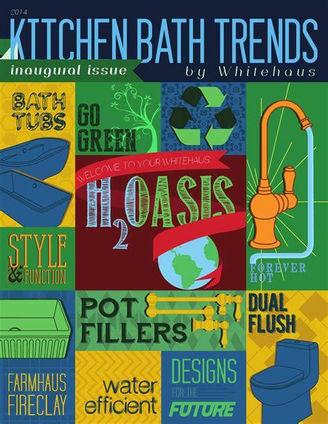 bathroom trends magazine kitchen bath trends magazine issue 1 by kitchen bath