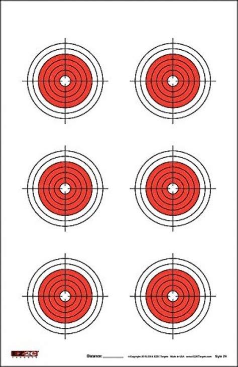 printable 11x17 targets 25 50 75 yard rifle targets 25 pcs long range shooting