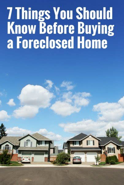 things you should know before buying a house 7 things you should know before buying a foreclosed home