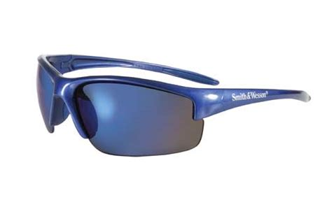 smith and wesson equalizer sunglasses blue frame with