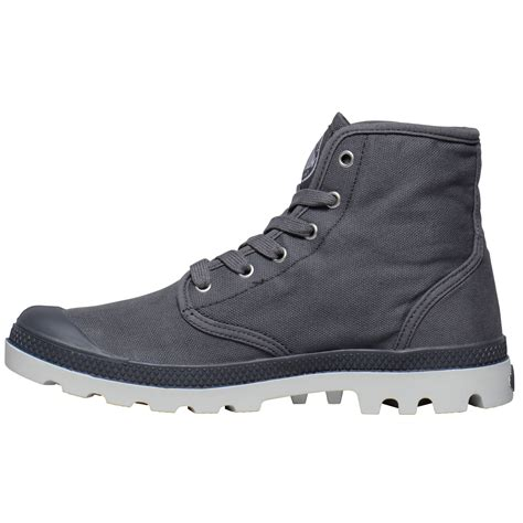 mens canvas ankle boots palladium mens shoes pa hi canvas new walking high top