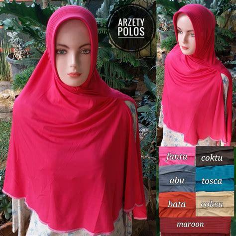 Jilbab Kerudung Daily Overdeck kerudung arzety od polos sentral grosir jilbab kerudung i supplier jilbab i retail grosir