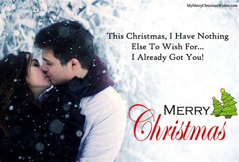 romantic merry christmas love quotes     images