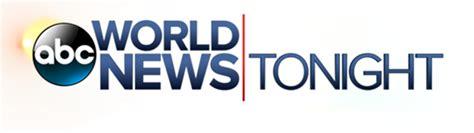 world news world news tonight weekend tv show abc