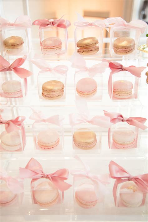 Baby Shower In A Box Ideas by Pink And Gold Tutu Baby Shower Baby Shower Ideas