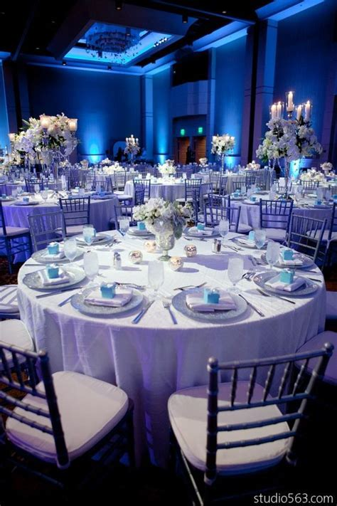 Ice blue weddings, Winter weddings and White weddings on