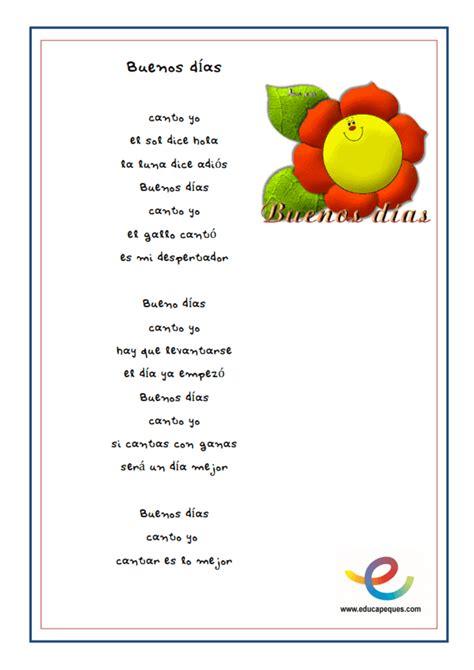 letras para ni241os canciones infantiles para cantar en el aula jugar y aprender