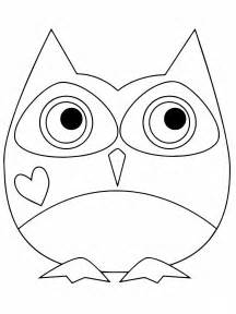 pictures of owls to color owl coloring pages