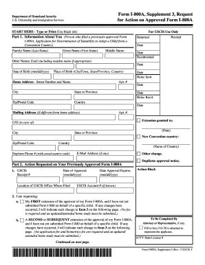 i800 supplement 3 fillable uscis form i 800a supplement 3 request