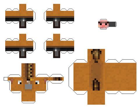 Minecraft Papercraft Pig - papercraft pig minecraft 2 0