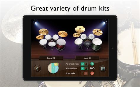 tutorial main real drum android amazon com real drum set drums kit app free appstore