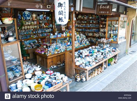 Shopping In The Best Pottery In Town by Japanese Pottery From Souvenir Shops In The Town Of