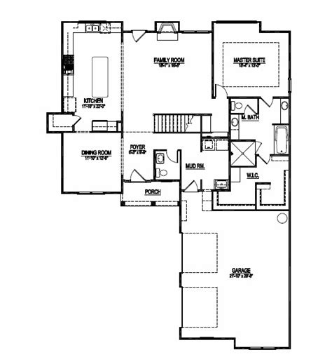 1st floor master bedroom house plans first floor master floor plans new plan just added
