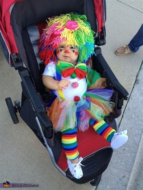 baby clown costume  sew diy costumes