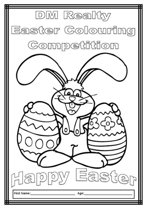dm realty dm realty easter colouring competition 2013