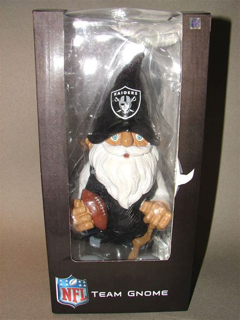 gifts for raiders fans lqqk raiders nfl football team gnome 11 quot fan gift black