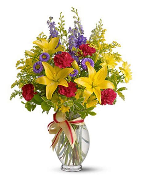 Flowers Delivered With Vase by Cut Flowers Vase At 1 800 Florals Flower Delivery