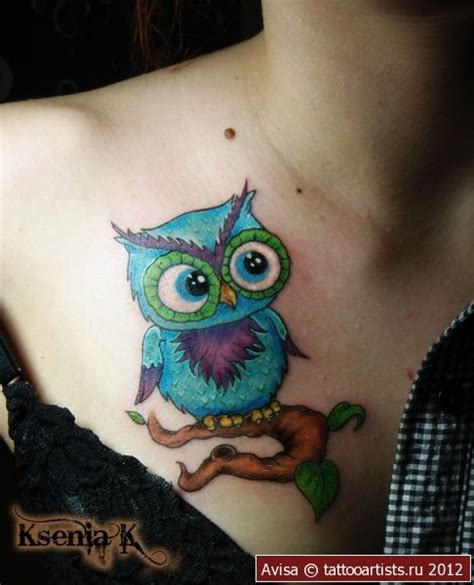owl tattoo location owl weird placement though but still super cute