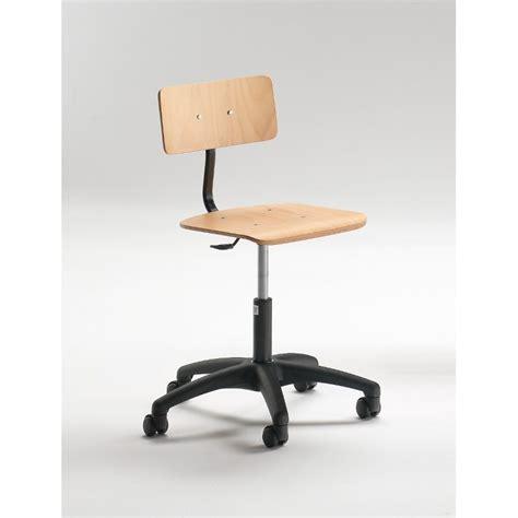 sedia regolabile sedia regolabile in faggio e acciaio con ruote arts