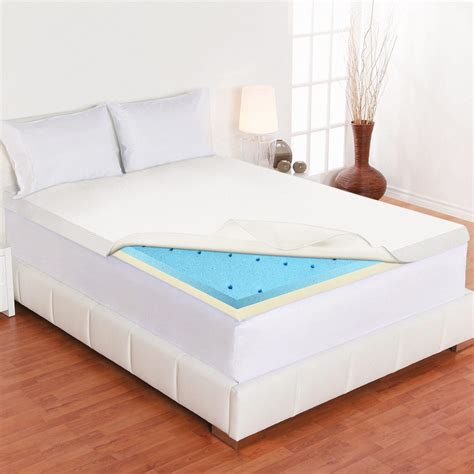 Mattress Topper For Futon by Spinal Solution Gel Infused High Density Foam Mattress