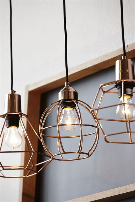 kitchen hanging light 20 exles of copper pendant lighting for your home