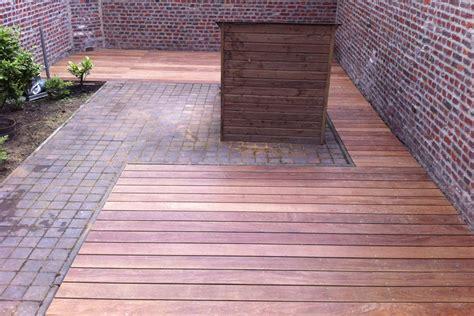 terrasse cumaru terrasse en bois exotique cumaru galaxy jardin lille