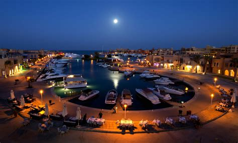 Auto Interior Colors Night At The Port Resort Of El Gouna Egypt Wallpapers And