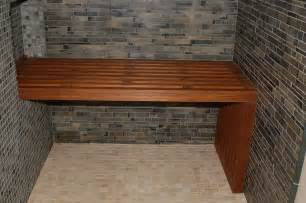 custom made teak bench by paragon woodworking custommade