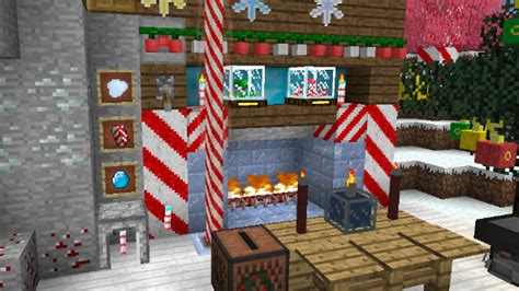 get merry with these minecraft christmas mods pcgamesn