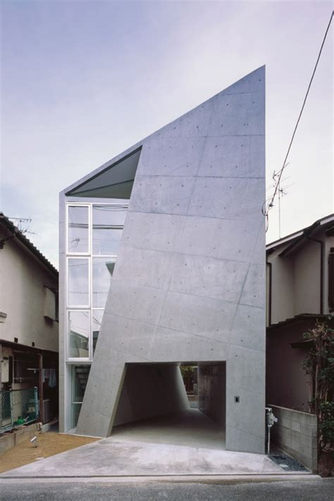 house architectural folded houses cool japan architecture design