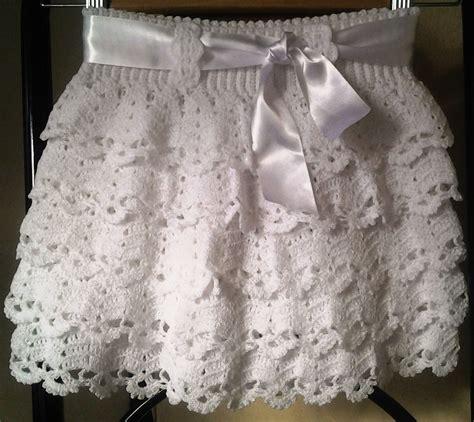faldas de crochet para nina falda para nina tejida a mano en crochet 19330