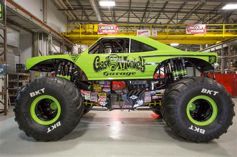 monster truck race gas monkey garage monster truck commander cody race