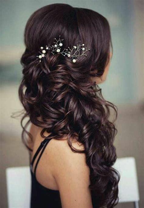 Brautfrisur Braune Haare by 1001 Ideen Und Inspirationen F 252 R Silvolle Und Moderne