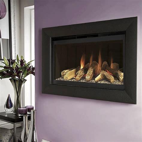 No Chimney Gas Fireplace by Flavel Balanced Flue Gas No Chimney Black Black Fbfl02rn3