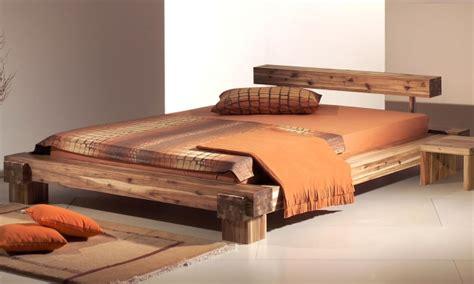 moderne betten aus holz moderne betten ideen f 252 r perfekte schlafwelten